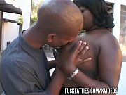 Fat Ebony Slut With Huge Tits Gets Black Rod