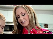 Stepmom Julia Ann Teaches Teen To Suck An …