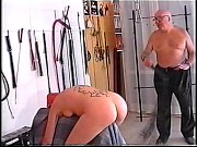 2 old men training young slave