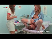Lusty gynecologist fisting and