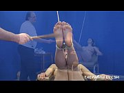 Feet whipping bondage and foot