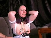 Crying maid nipple tormented a