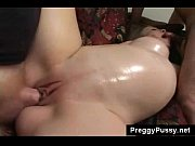 Busty pregnant slut hongry for