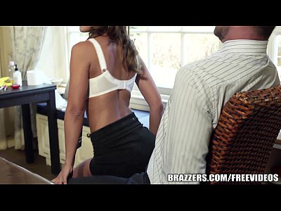 Striptease Babe Schoolgirl video: Brazzers - Black Angelika - Touching the Tutor