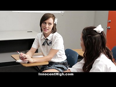 InnocentHigh - Threesome with Shelby Good And Allison Rey