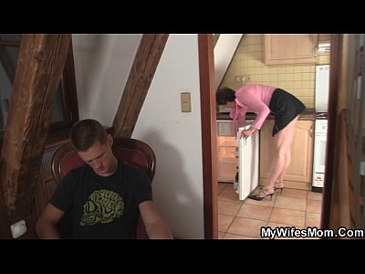 Cheating Mom Mother video: Horny mother-in-law needs fresh cock