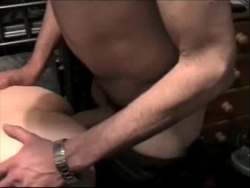 A Master is fucking and breeding his slave